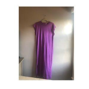Free People Magenta Midi Dress